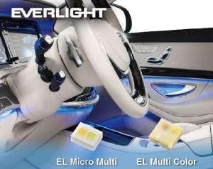 亿光电子推出推出EL Micro Multi(1216)及EL Multi Color(2525)多