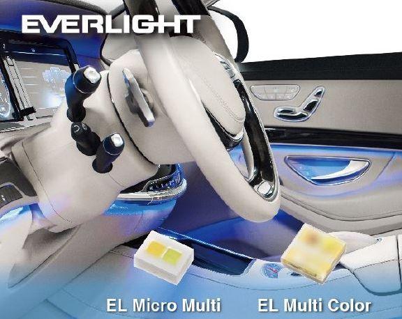亿光电子推出推出EL Micro Multi(1216)及EL Multi Color(2525)多卫辉